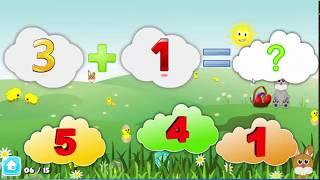 Dạy bé học toán - Video vui dành cho bé tuổi mầm non và lớp 1