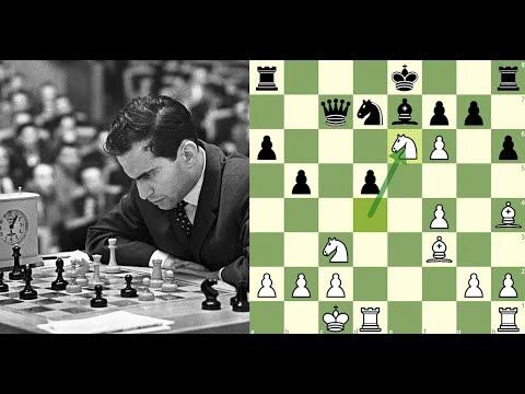 O Mago de Riga sacrifica absolutamente TUDO! Mikhail Tal vs Alexander Koblents, Riga (1961)