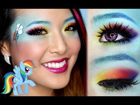 ❤ Rainbow Dash Makeup Tutorial ❤