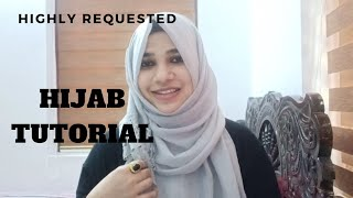 Hijab tutorial/highly requested video