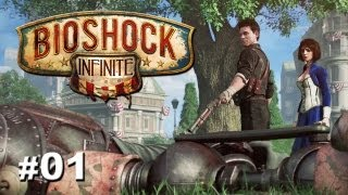"Bioshock Infinite - Part 1 ""Welcome to Columbia"" / Gameplay Walkthrough (Giveaway)"