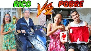 RICO VS POBRE NO DIA DOS PAIS! - KIDS FUN