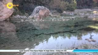 Aşağı Karaman Köyü Kapuz Boğazı Ve Doğal Sahası - Ant…