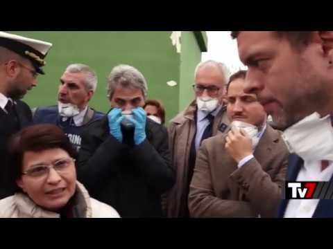 Stefano Vignaroli, Pres. Commissione Ecomafie, parla a TV7 della cattiva depurazione in Sicilia