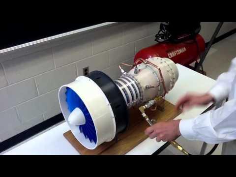 3D Printed Jet Engine UVA Mechanical Engineering