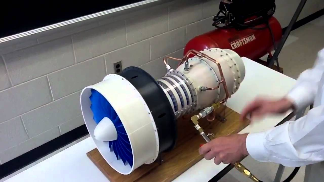 How to Build a Working Replica Jet Engine With a 3D Printer
