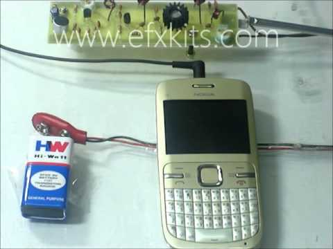Low Cost Long Range FM Transmitter With Audio Modulation