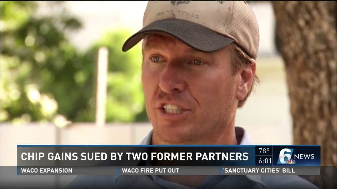 'Fixer Upper's' Chip Gaines sued by former business partners for fraud