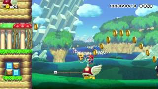 70 Second Speedrun[Easy]: Beating Super Mario Maker's Super Expert Levels!