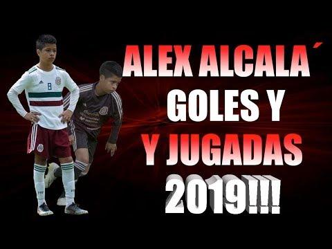 ALEX ALCALA GOLES Y JUGADAS 2019