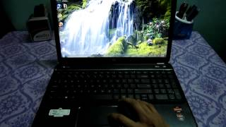 HP Pavilion G6 2313 AX Review Part 2 (Boot up !!!) With Drivers Link