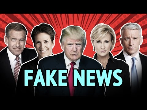 Fake News Remix - Donald Trump vs. The Mainstream Media