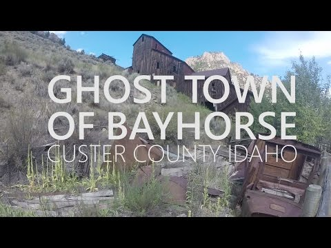 Ghost Town of Bayhorse