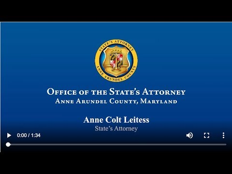 Office of the State's Attorney | Anne Arundel County, MD