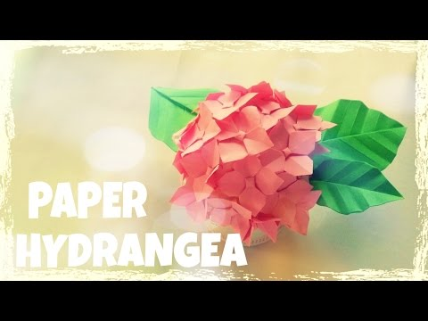 origami-easy---origami-hydrangea-flower-tutorial