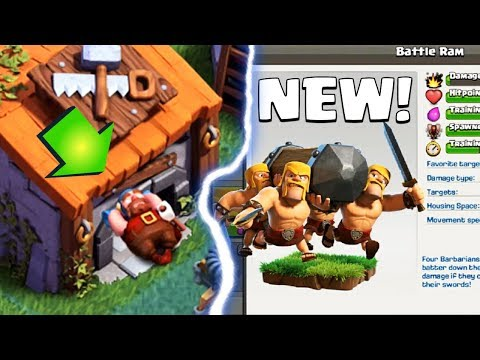 FUNNY GLITCHES AND LEAKS IN CLASH OF CLANS | New Battle Ram Troop and MORE