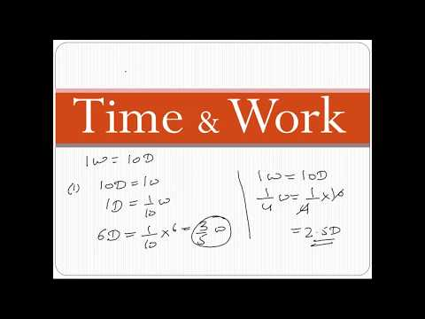 Time & Work | Online Live Classes |  SSC, Banking, GATE, Aptitude Live Training Videos