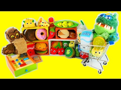 Cash Register Toy Pretend Play Food