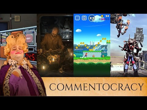 VR Is King, Resident Evil Is For Cowards, Nintendo Will Be BROKEN! (Commentocracy)