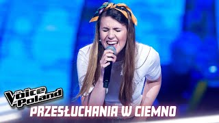 "Julia Olędzka - ""I'll Never Love Again"" - Przesłuchania w ciemno - The Voice of Poland 10"