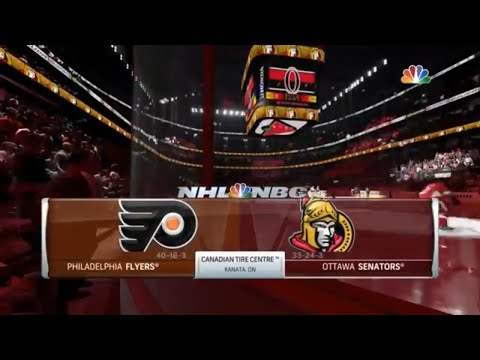 NHL 18 Gameplay- Philadelphia Flyers vs Ottawa Senators