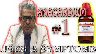 Anacardium Orientale in Hindi (Part 1) - Uses & Symptoms by Dr P. S. Tiwari