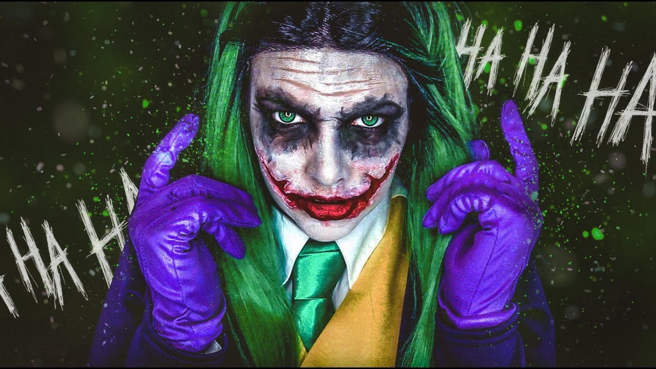 THE JOKER   Halloween Makeup Tutorial   Cherry Wallis - YouTube