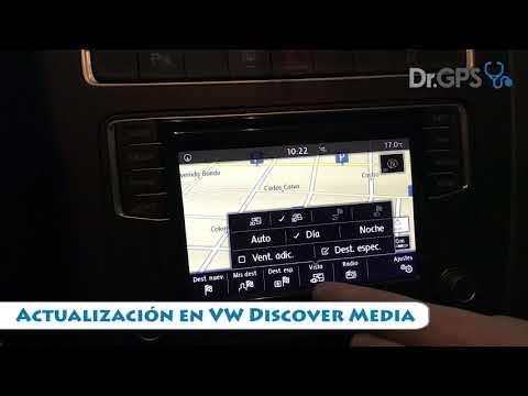 Actualización VW Gps Discover Media Volkswagen Sudamérica