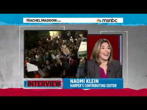 'The Sky's The Limit' A interview with Naomi Klein on Occupy Wall Street