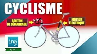 Cyclisme : un moteur caché dans le vélo de Cancellara ? | Archive INA