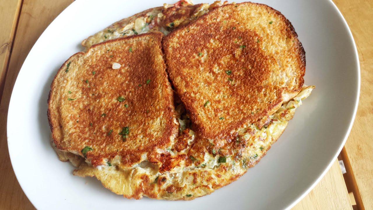 Bread Omelet  Quick Breakfast Recipe - YouTube