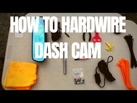 How To Hardwire Front And Rear Cameras - Toyota Wigo - DIY