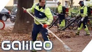 Der harte Job als Straßenreiniger | Galileo | ProSieben