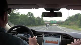 Tesla Model S Test Drive Get Amped Washington, DC