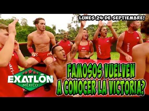 Los FAMOSOS vuelven al triunfo?? | AVANCE LUNES 24 DE SEPTIEMBRE EXATLON MEXICO
