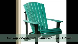 Polywood Folding Adirondack Chair By Premium Poly Patios