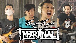 Marjinal - Negri Ngeri | METAL COVER by Sanca Records