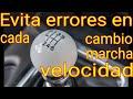 Clase de Manejo 1- Memorizacion de la Palanca de Cambios, velocidades(V19)-AMDC