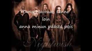 Nightwish - Kuolema tekee taiteilijan (Lyrics/ Karaoke instrumental)