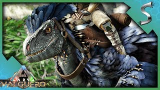 ARK DEINONYCHUS FIRST LOOK PACK BONUS amp; LATCHING MECHANIC SHOWCASE  Ark Valguero DLC Gameplay