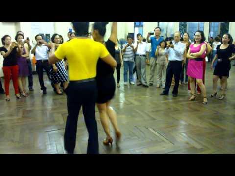 Rumba lớp 4-Bài 2- Vũ sư Đức Thắng. Nhà Văn hóa lao động- Tháng 10-2012