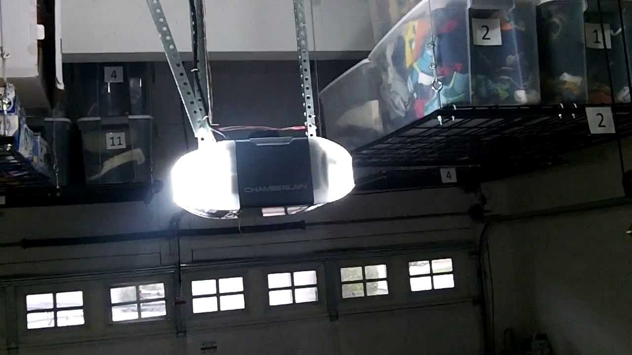 Good Cheap Installation Garage Door Opener In Schaumburg,il Chamberlain Belt  Drive   YouTube