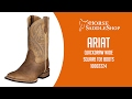 Ariat Men's Quickdraw Boots Wide Square Toe 2224