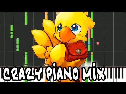 "Crazy Piano Mix! ""CHOCOBO THEME"" (Final Fantasy)"