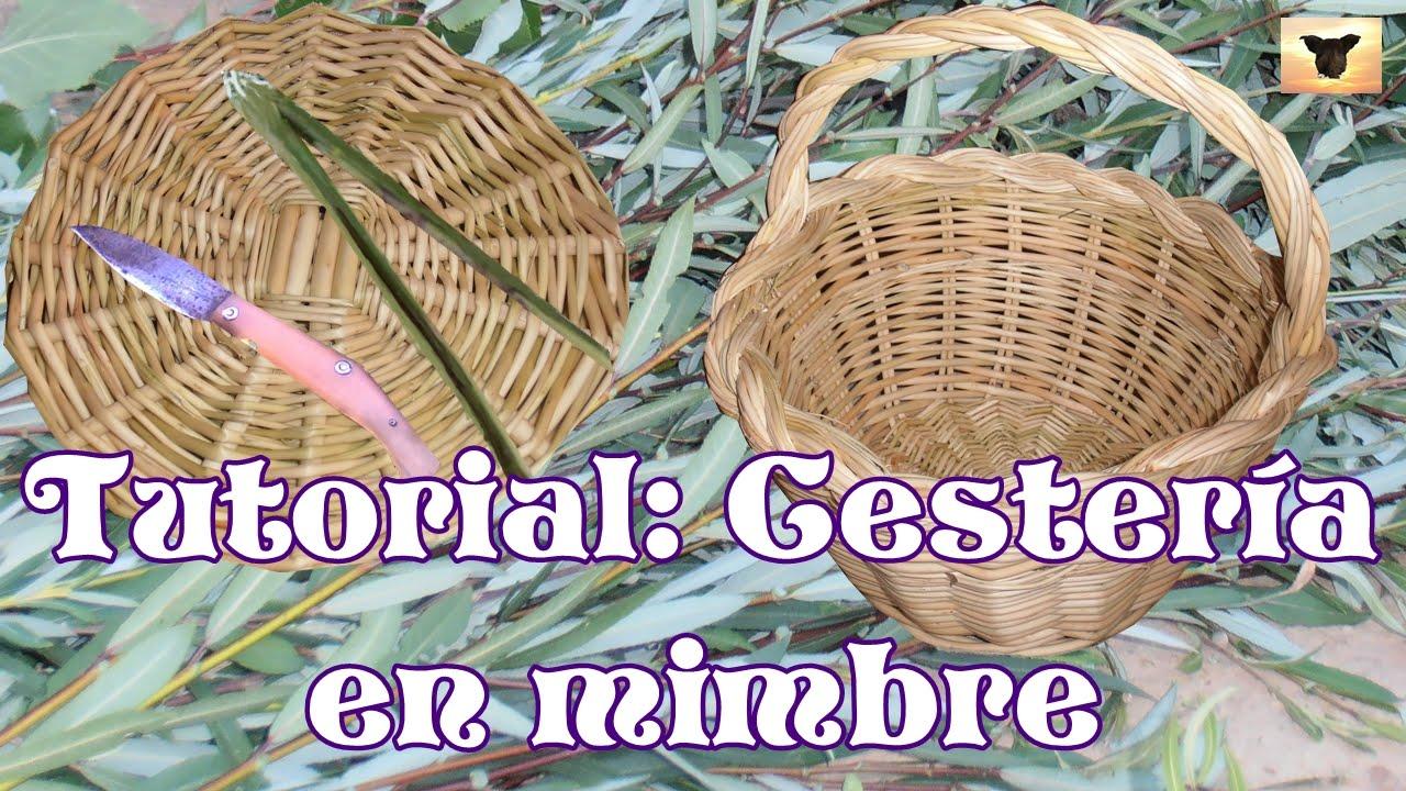5 pasos para crear una cesta de mimbre artesanalmente - Como adornar cestas de mimbre ...