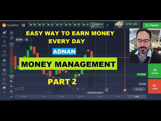 Easy Way To Earn Money Every Day -  Part 2 -Adnan Binary Option Money Management