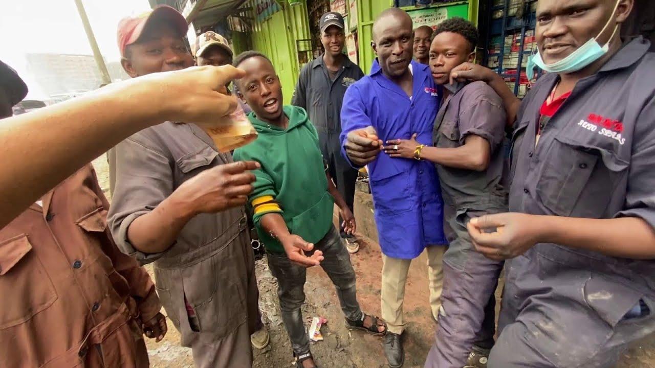 MI-A FOST FRICA IN CENTRUL ORASULUI NAIROBI (FOARTE PERICULOS)