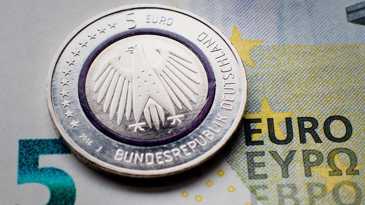 Sammler Freuen Sich über Neue Fünf Euro Münze Youtube