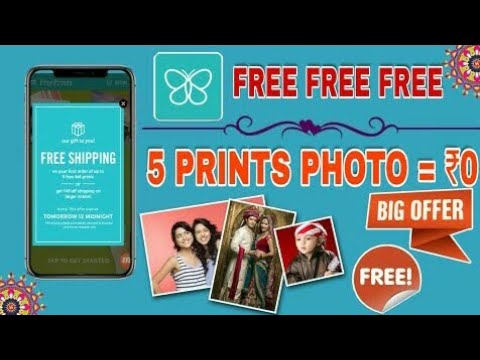 Free Print App Offer 5 Photo Prints In 0 Free How To Get Free