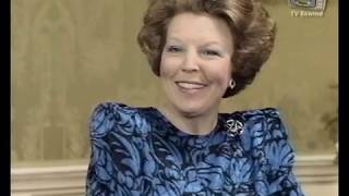 Beatrix en Claus interview 25 jarig huwelijk - NOS 1991